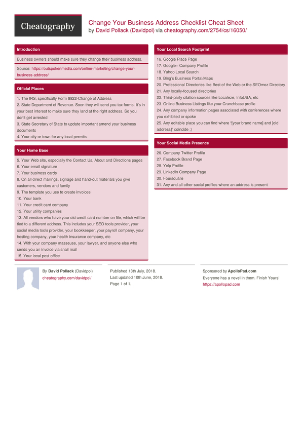 Irs Business Change Of Address Form Gallery Free Form Design Examples