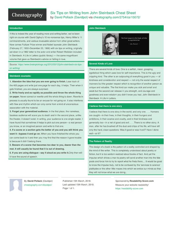 advice to writers jon winokur pdf