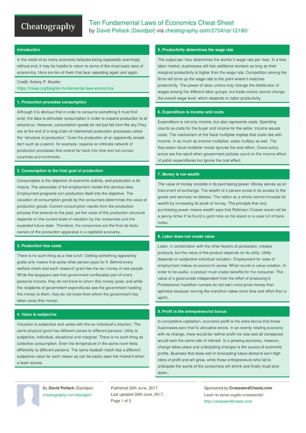 Econometrics cheat sheet Coursework Writing Service