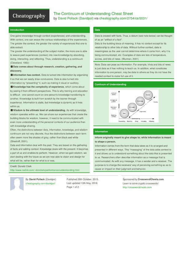 understanding continuum of care