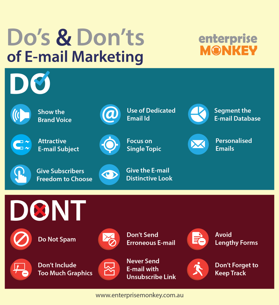 eMail Marketing Best Practices Cheat Sheet by Davidpol - Download ...