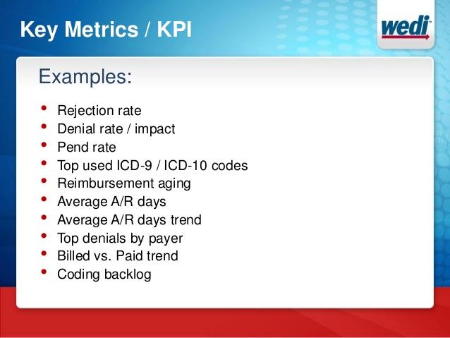 Icd10 Key Performance Indicators Kpi Cheat Sheet By Davidpol