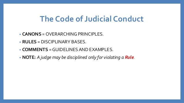 code of judicial conduct pdf