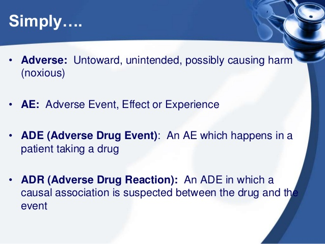 Common Adverse Drug Effects Cheat Sheet by Davidpol