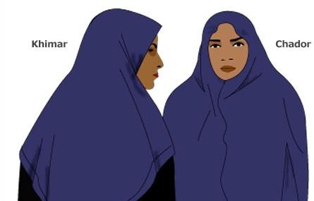 Basic Styles of Muslim Women Headwear Cheat Sheet by Davidpol ... 083cb9ed7c0