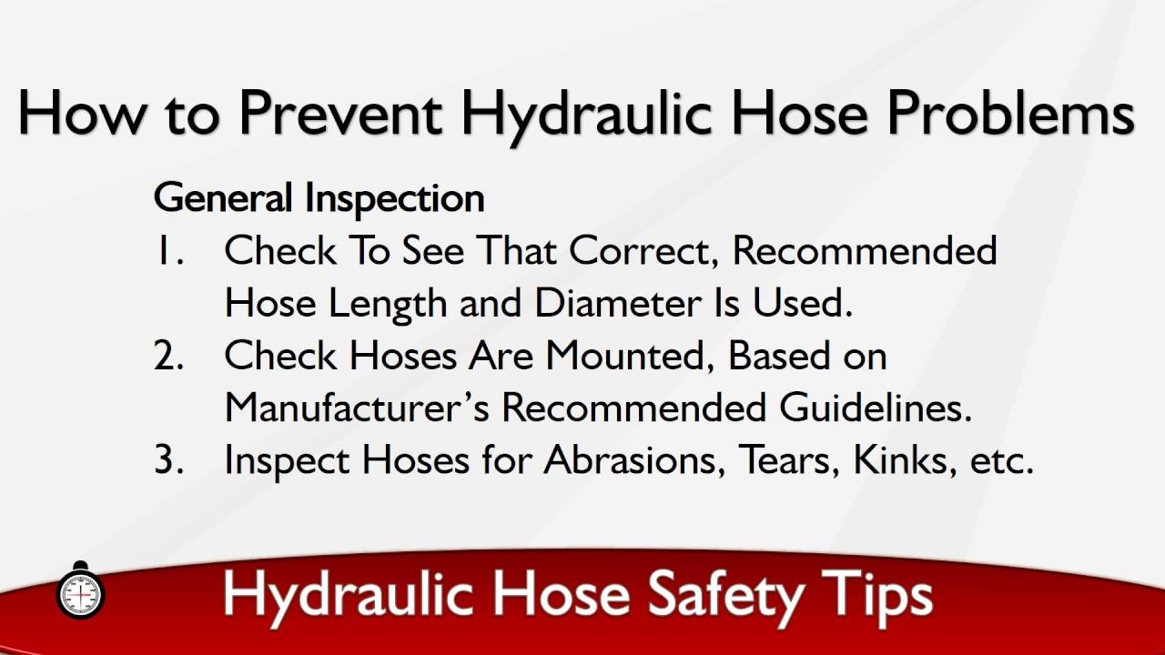 Reuse of hose and fittings  sc 1 st  Cheatography.com & Best Practices for Hydraulic Hose Safety Cheat Sheet by Davidpol ...