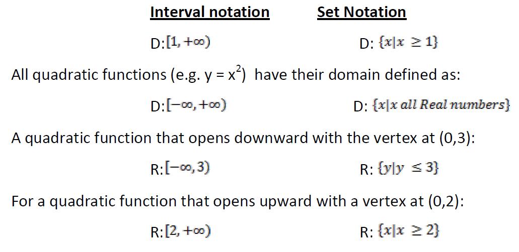 set notation worksheet